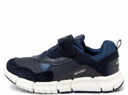 GEOX J SNEAKERS FLEXYPER BOY CASUAL SPORT  NAVY/AVIO 1