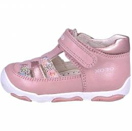 GEOX BABY FIRST STEPS CASUAL SPORT NEW BALUGIRL OLD ROSE
