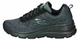 SKECHERS ENGINEEERED MESH LACE UP W
