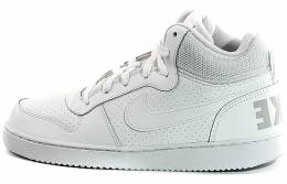 huge selection of 39997 fc064 NIKE COURT BOROUGH MID GS WHITE