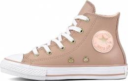 CONVERSE ALL STAR CHUCK TAYLOR TAUPE PINK INF
