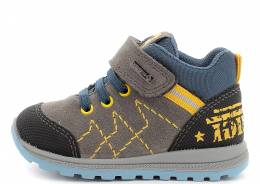 PRIMIGI SCAM/GOMM/TECNI GRIGIO FIRST STEP SNEAKERS WITH GORE-TEX® BOY