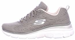 SKECHERS FASHION FIT-BOLD BOUNDARIES GRAY/LAVENDER