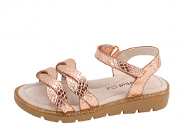 OSCAL - FENECIA SANDALS GIRLS PINK/GOLD