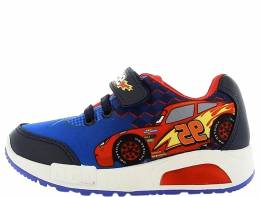 CARS SNEAKERS BOYS LIGHT (ΦΩΤΑΚΙΑ) BLUE/RED