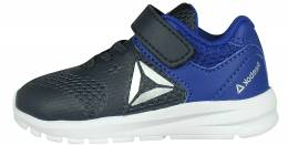 REEBOK RUSH RUNNER NAVY/BLUE/SILVER