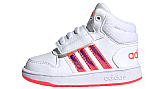 ADIDAS HOOPS 2.0 MID CLOUD WHITE