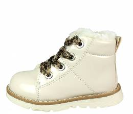 CONGUITOS CHAROL BEIGE BABY GIRLS BOOTS