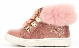 CONGUITOS METALIZATO SNEAKERS ROSA