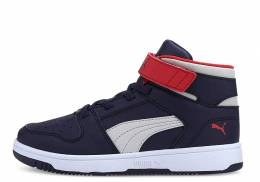 PUMA REDOUND JOY LAY-UP INF BLUE/WHITE/RED