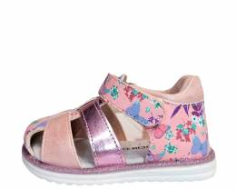 OSCAL- FENECIA SANDALS GIRLS PINK/FLORAL