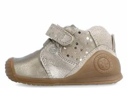 BIOMECANICS B-TAUPE METALCRIS BABY GIRL FIRST STEP