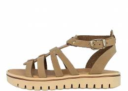 PRIMI PASSI GIRLS SANDALS LEATHER SAND/GOLD