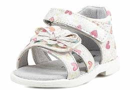 TOYITY WHITE/FLORAL SANDAL GIRL