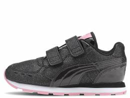 PUMA VISTA GLITZ V PS BLACK/PINK