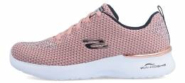 SKECHERS EMPROIDERY KNIT LACE UP  W/AIR