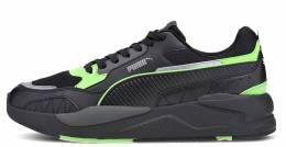 PUMA X-RAY 2 SQUARE BLACK-BLACK-E GREEN-S GRAY